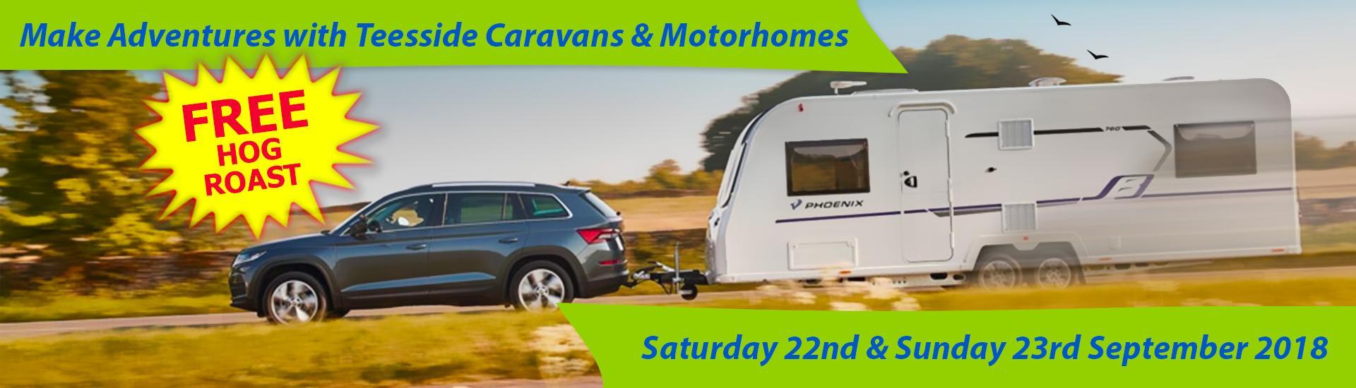 Adventures with Teesside Caravans