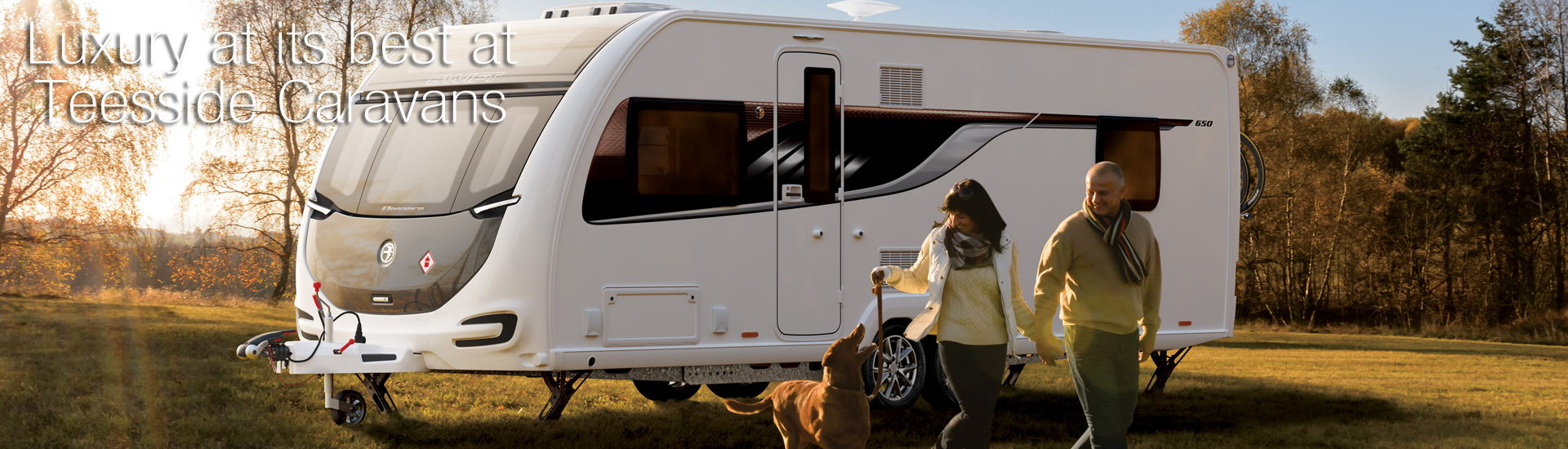 Luxury at its best at Teesside Caravans