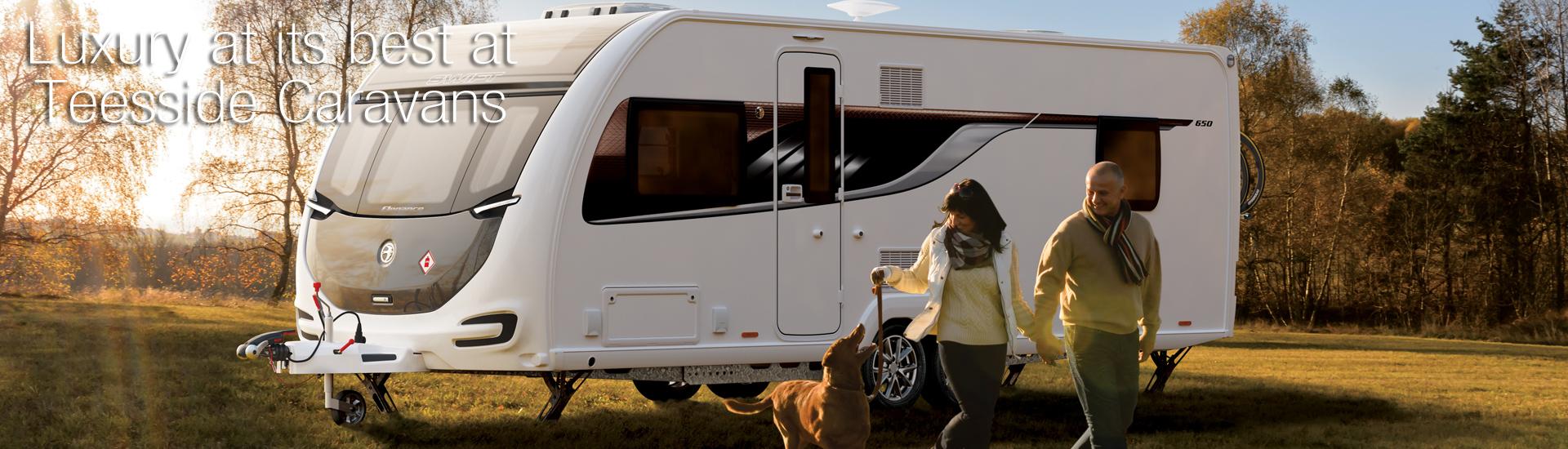 Luxury at its best at Teeside Caravans