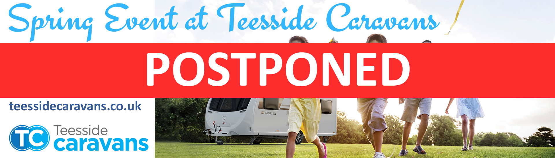 Teeside 2020 Spring Event Postponed