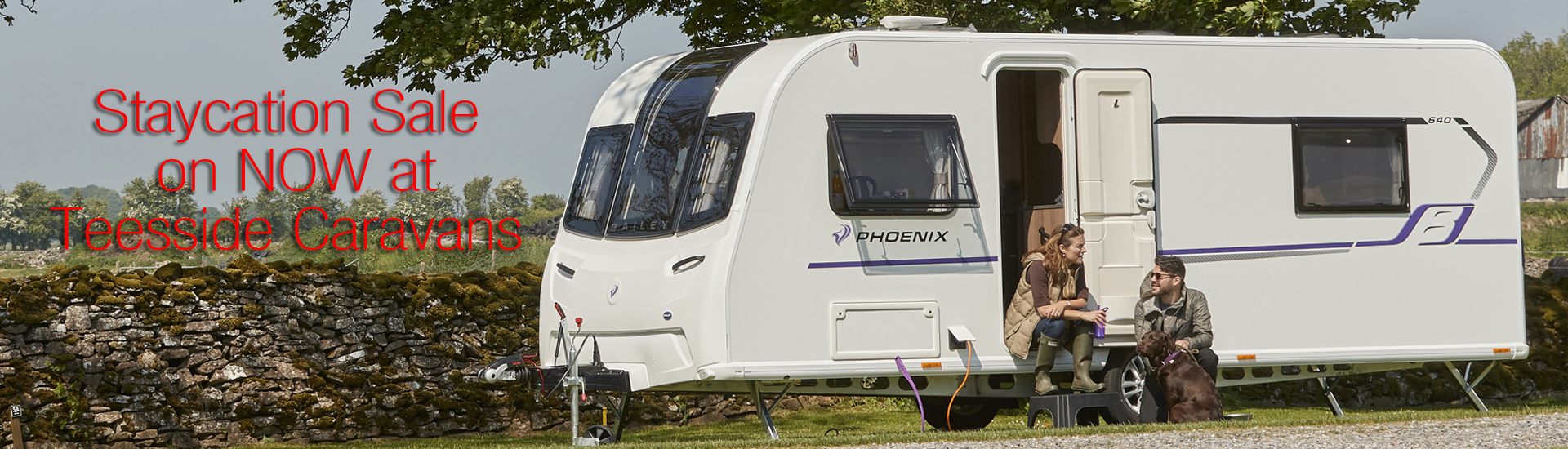 Staycation Sale on NOW at Teesside Caravans