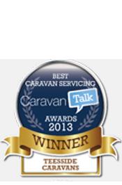 Best Caravan Servicing Awards 2013