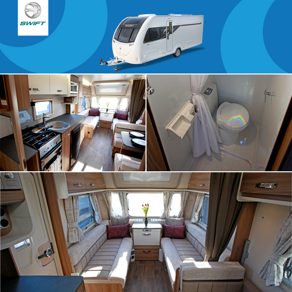 The Limited Edition 'Continental' Caravan