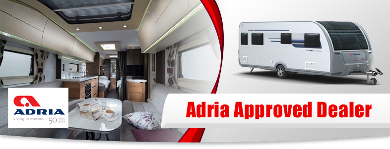 New Adria Caravans
