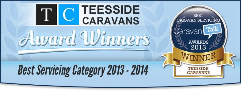 Teesside Caravans Award Winners