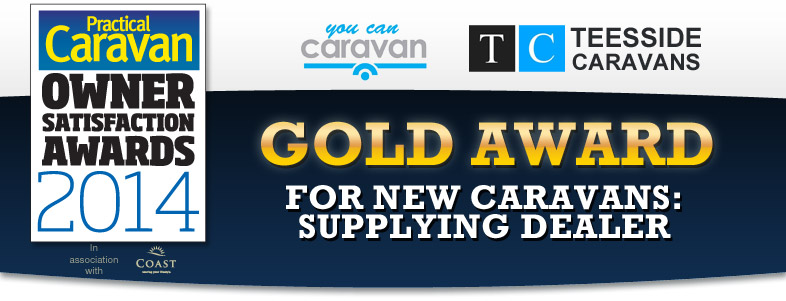 Practical Caravan Gold Winner